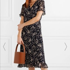 Madewell Spotted Wrap Dress